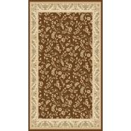 World Rug Gallery ELITE Brown/Floral 4'x6' Rug at Kmart.com