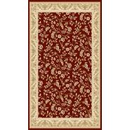 World Rug Gallery ELITE ) Red/Floral 4'x6' Rug at Kmart.com
