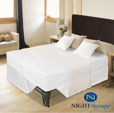 Night Therapy 8 Inch Spring Mattress Complete Set Full