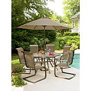 Garden Oasis Grandview Dining Set Bundle at Kmart.com
