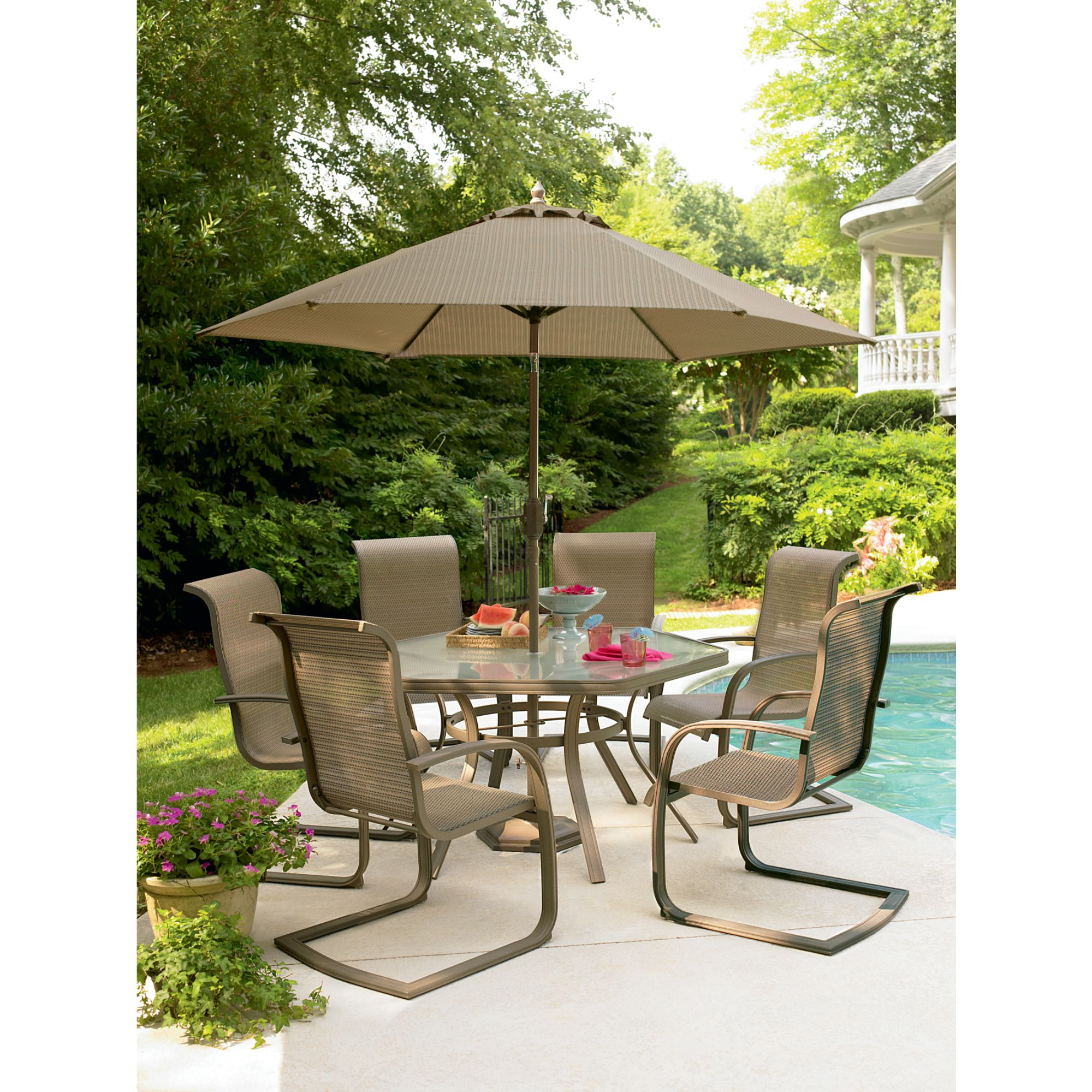 Garden Oasis  Grandview 7 Pc. Dining Set