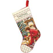JANLYNN Waiting For Santa Stocking Counted Cross Stitch Kit at Sears.com