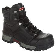 Craftsman Men's Vadar 6 inch Steel Toe Work Boot - Black at Sears.com