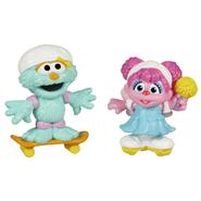 Sesame Street ® PLAYSKOOL®* Skating Friends Abby Cadabby & Rosita 2-Pack at Kmart.com