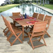 Amazonia Cabana 9-pc Teak Dining Set at Kmart.com