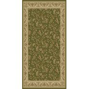 World Rug Gallery ELITE Green/Floral 2'x8' Rug at Kmart.com
