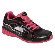Athletech Women's Ath L-Willow Athletic Shoe - Black/Pink - Every Day Great Price at Kmart.com