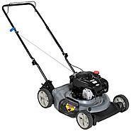 Craftsman 140cc* Briggs & Stratton Engine, Low Wheel Side Discharge Push Mower 50 States at Craftsman.com