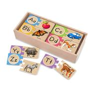 Melissa & Doug Self-Correcting Letter Puzzles at Sears.com
