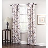 Jaclyn Smith Logan Room Darkening Panel Pair - Floral Print at Kmart.com