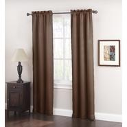 Jaclyn Smith Logan Room Darkening Panel Pair - Chocolate at Kmart.com