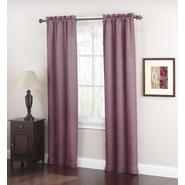 Jaclyn Smith Logan Room Darkening Panel Pair - Plum at Kmart.com