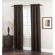 Jaclyn Smith Logan Room Darkening Panel Pair - Black at Kmart.com