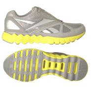 Reebok Women's Solar Vibe Running Athletic Shoe - Grey/Yellow at Sears.com