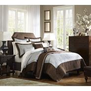 Gramercy Park Frieda 3 pc Mini Comforter Set - Chocolate & Blue at Kmart.com