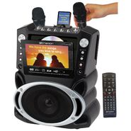 "Emerson Portable DVD/CD+G/MP3+G Karaoke System w/ 7"" TFT Color Screen, Record Function - GF827 at Kmart.com"
