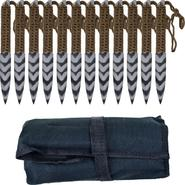 Whetstone Cutlery Stripeger Kunai 12 Throwing knives Set at Sears.com