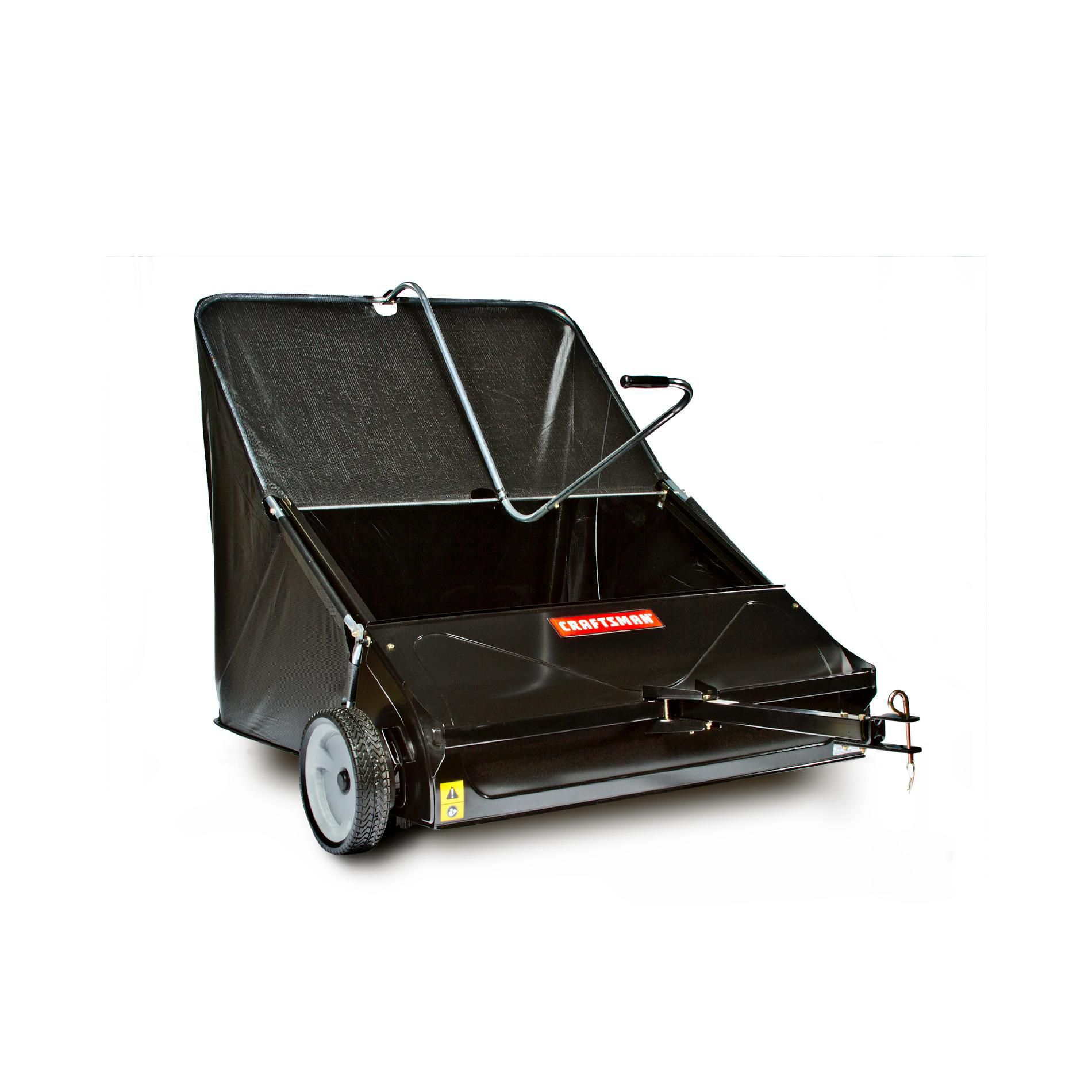 Craftsman 44 high speed sweeper attachment for riding mowers shop your way online shopping for Craftsman garden tractor attachments