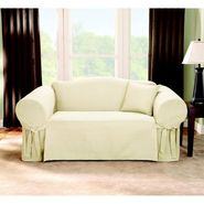 Sure Fit Slipcover Logan Natural Loveseat at Sears.com
