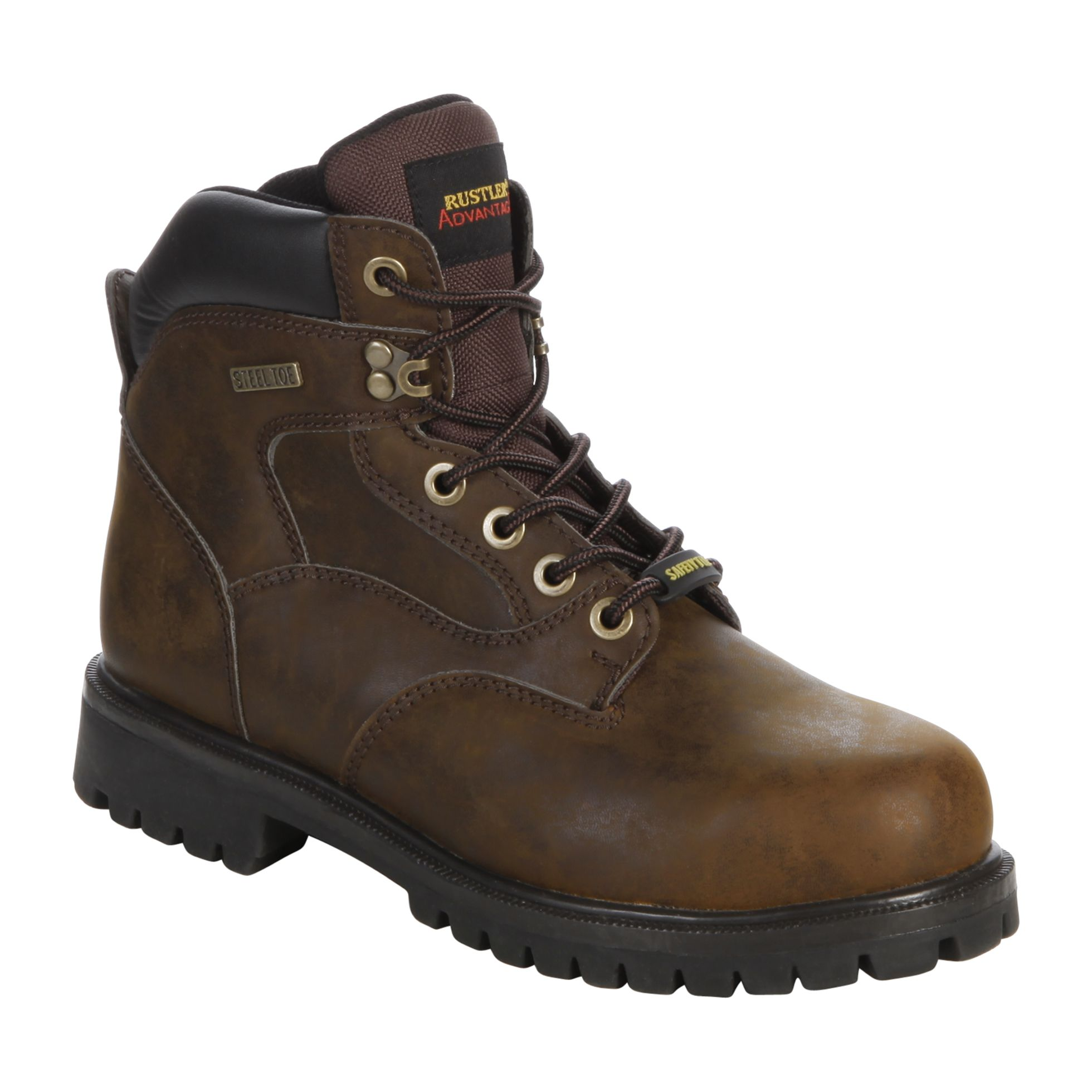 Men's Nelson Steel Toe Work Boot - Brown
