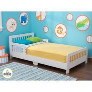 Slatted Toddler Bed-White at Kmart.com