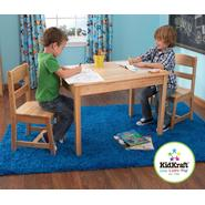 Rectangle Table and Two Chair Set-Natural at Kmart.com
