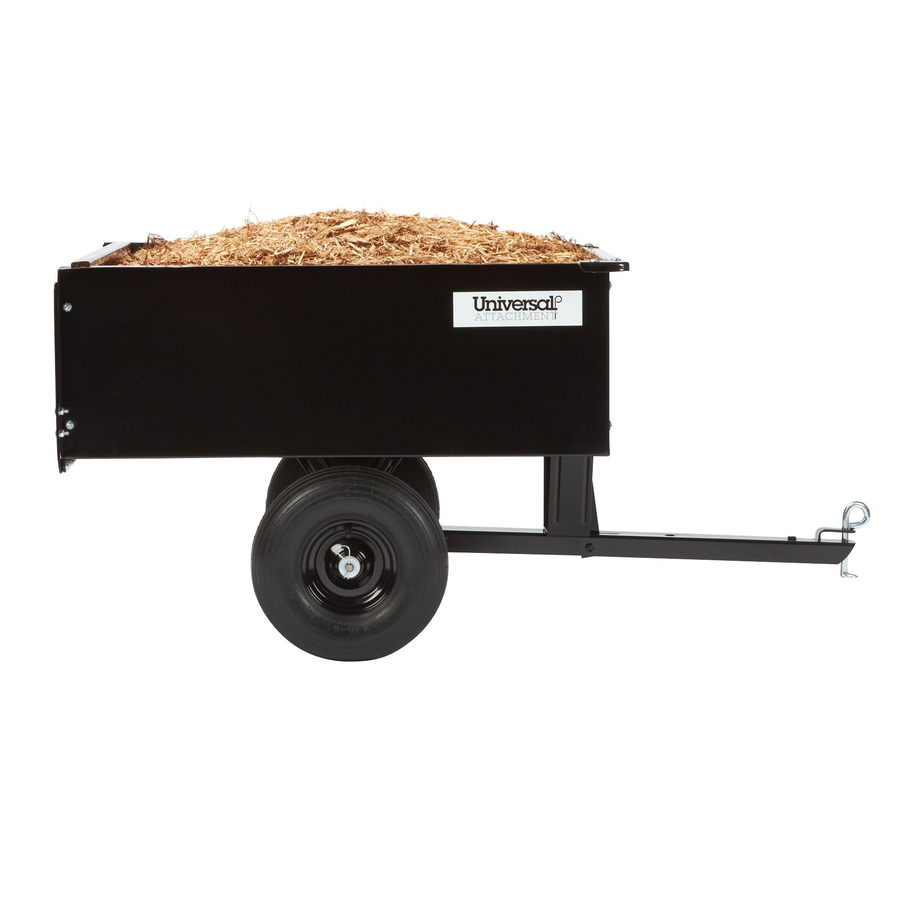 Universal  9 cu. ft. Steel Dump Cart