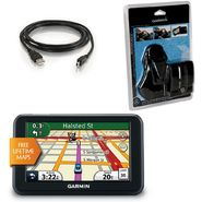 Garmin NUVI40LM KIT Nuvi 40LM GPS, Carry Case, Friction Mount and USB 2.0 A to Mini-b Cable at Kmart.com