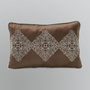 Gramercy Park Frieda Oblong Decorative Pillow - Brown at Kmart.com