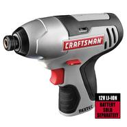 Craftsman 61189 Nextec 12-volt Cordless Impact Driver - Tool Only at Craftsman.com