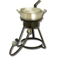 "King Kooker® King Kooker® 16"" Outdoor Cooker Fish Fryer with 7Qt. Aluminum Fry Pan at Kmart.com"