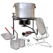 King Kooker® King Kooker® Multi-Purpose Hot Tub Outdoor Cooking Package. Fry, Boil, Steam and Simmer! at Sears.com