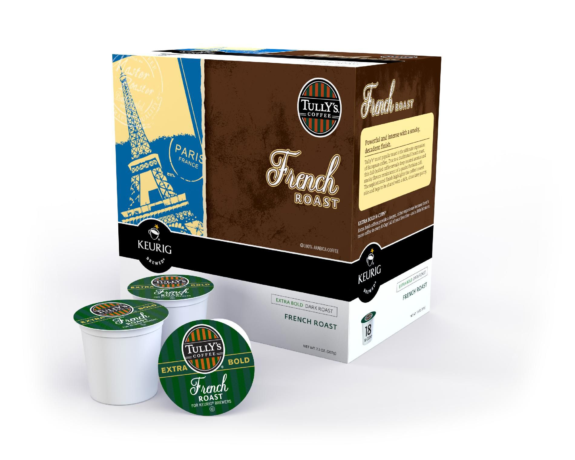 Keurig  Tully's French Roast Coffee For