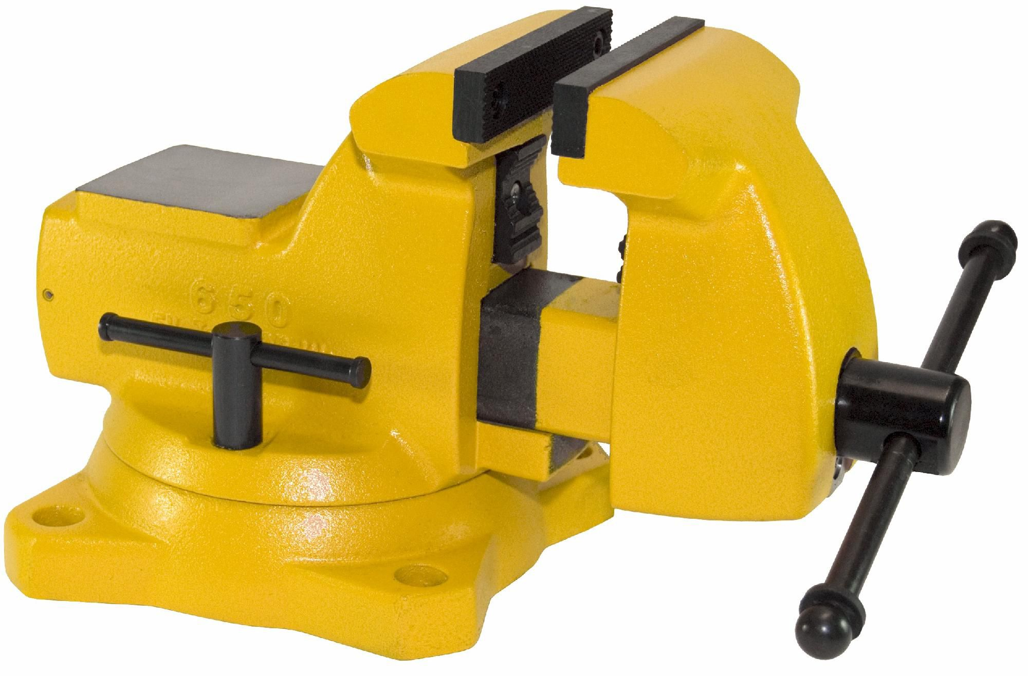 650-HV - High Visibility Mechanic's Vise