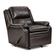 Simmons Baron Leather Rocker Recliner at Sears.com