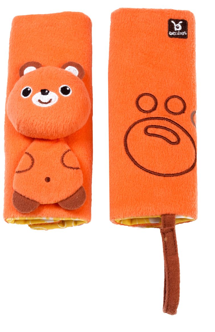 Travel Friends Seat Belt Pals - Bear (0-12