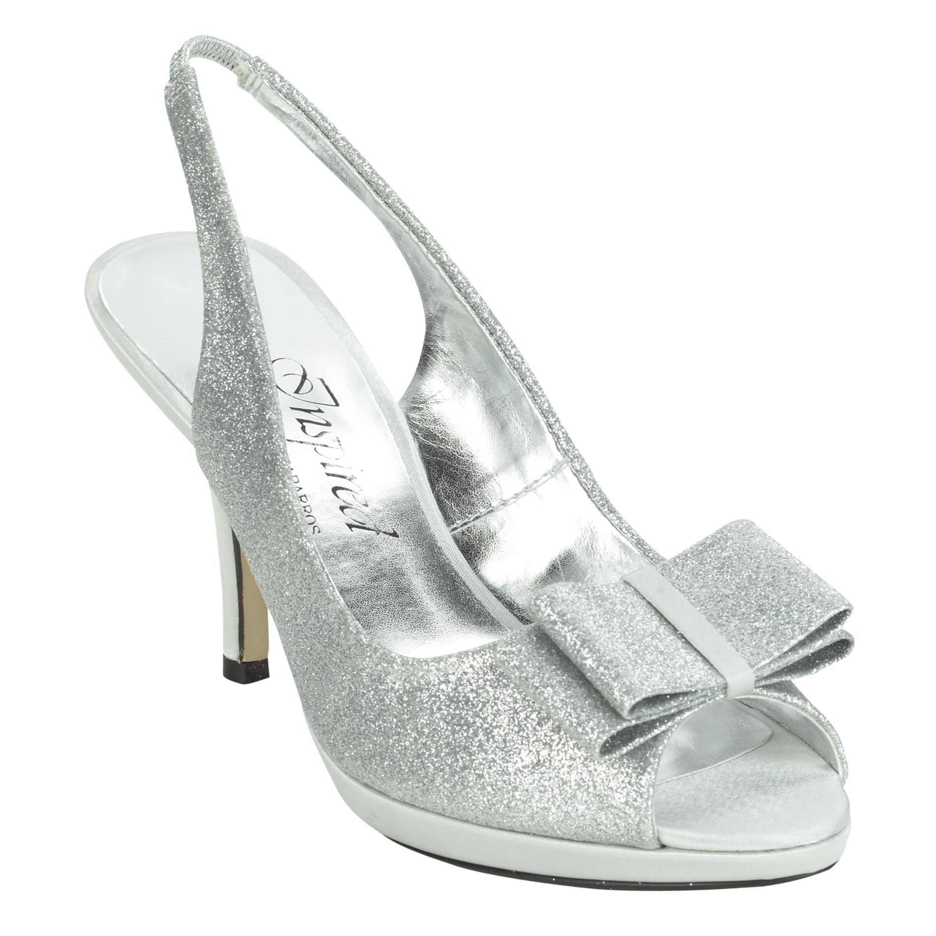 Inspired by Caparros Women's Dress Shoe Mania - Silver 7.5