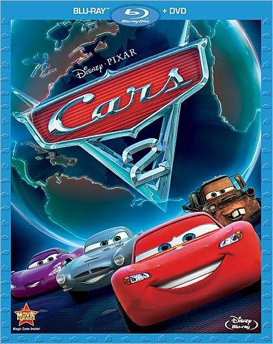 Buena Vista Cars 2  DVD   Blu-ray Combo PartNumber: 017W004219416000P
