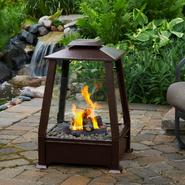 Real Flame Sierra Outdoor Fireplace in Copper 29Hx20Wx20D at Sears.com