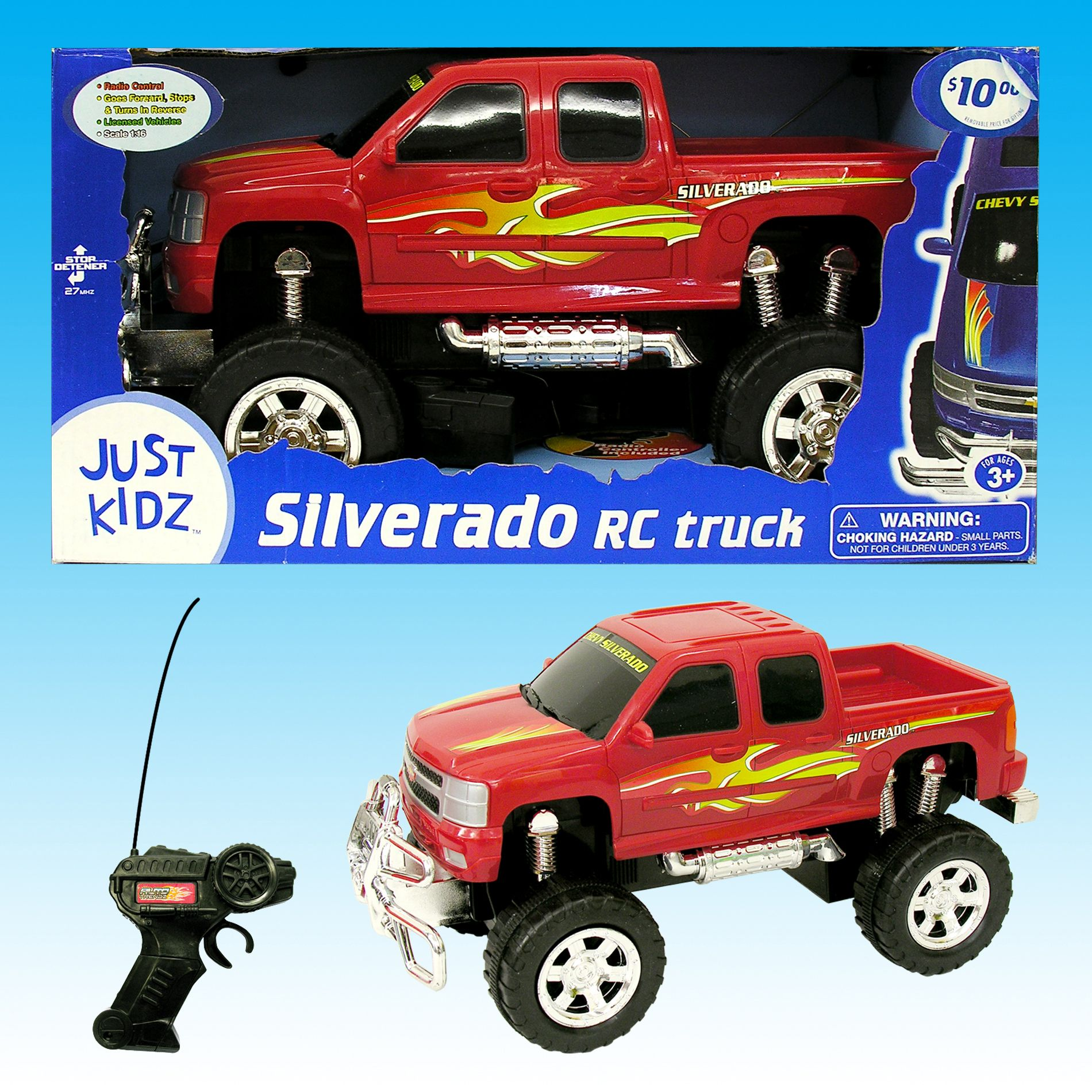1:16 Scale Licensed Silverado RC Truck                                                                                           at mygofer.com