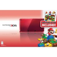 Nintendo 3DS Flame red with Super Mario 3D Land - Black Friday Limited Edition at Kmart.com
