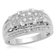 1/2 cttw 3-Stone Princess Diamond Ring at Sears.com
