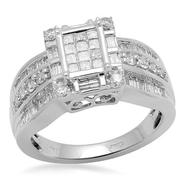 1 cttw Diamond Ring in White Gold at Sears.com
