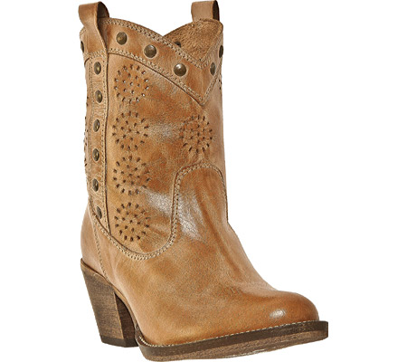 Dingo  Women's Roni DI 792 - Tan Buffalo Calf