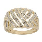1/2cttw Diamond Ring in 18k Gold over Sterling Silver at mygofer.com