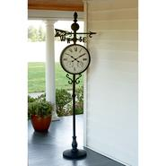 Garden Oasis Weather Vane Clock with Temperature & Humidity Gauges at Sears.com
