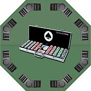 Trademark Poker 500 11.5g 4 Aces Chips, Aluminum Case & Tabletop Super Set at Kmart.com