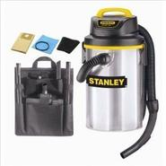 Stanley 4.5 Gallon 4.5 Peak HP Stainless Steel Wet/Dry Vacuum at Sears.com