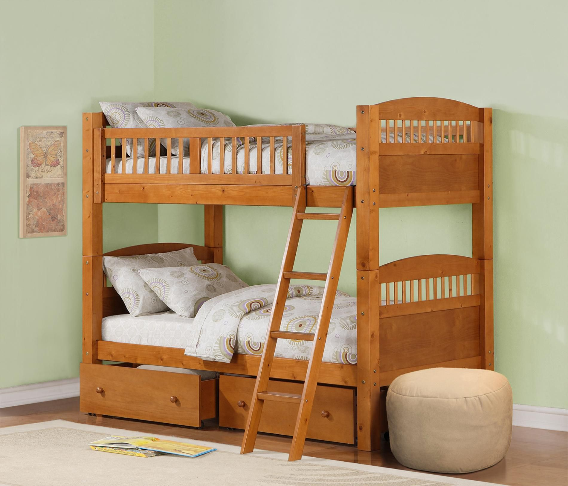 Dorel  Bunk Bed Pine