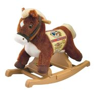 Tek Nek Rockin' Rider Pony Rocker Animated Plush - Brown Rocking Horse at Kmart.com